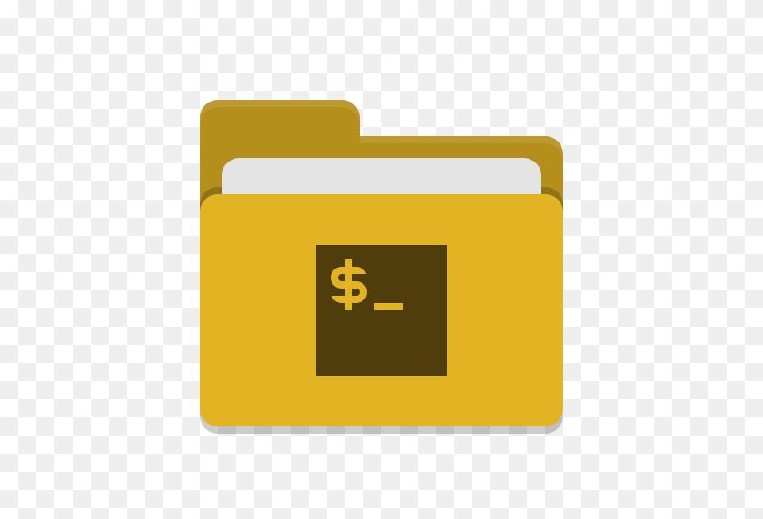 Folder Icon Yellow, Yellow Folder - Manila Folder Clipart