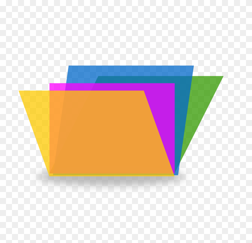 Folders Directory Computer Icons Paper Document Free - Manila Folder Clipart