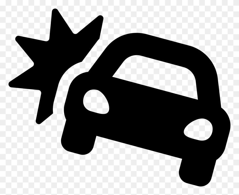 Font Awesome Solid Car Crash - Car Crash PNG