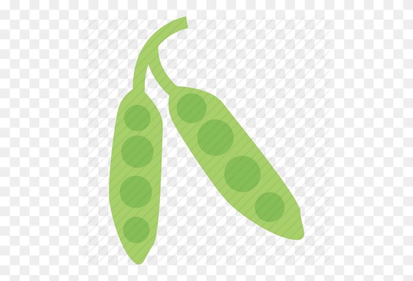 Food And Vegetable, Green Peas, Peas, Vegetable Icon - Peas PNG