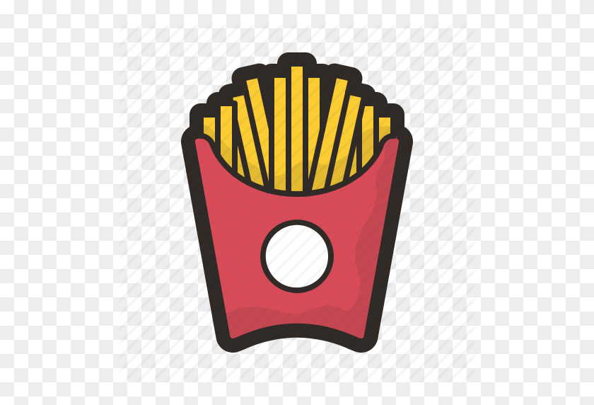 Food, Fries, Hot, Junk, Mcdonalds, Meal Icon - Mcdonalds Fries PNG