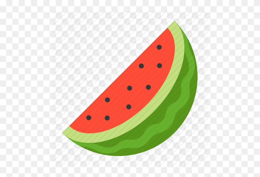 Food, Fruit, Healthty, Vitamin, Watermelon, Watermelon Slice Icon - Watermelon Slice PNG