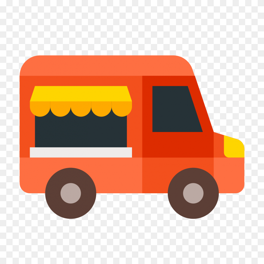 Food Truck Icon - Truck Icon PNG