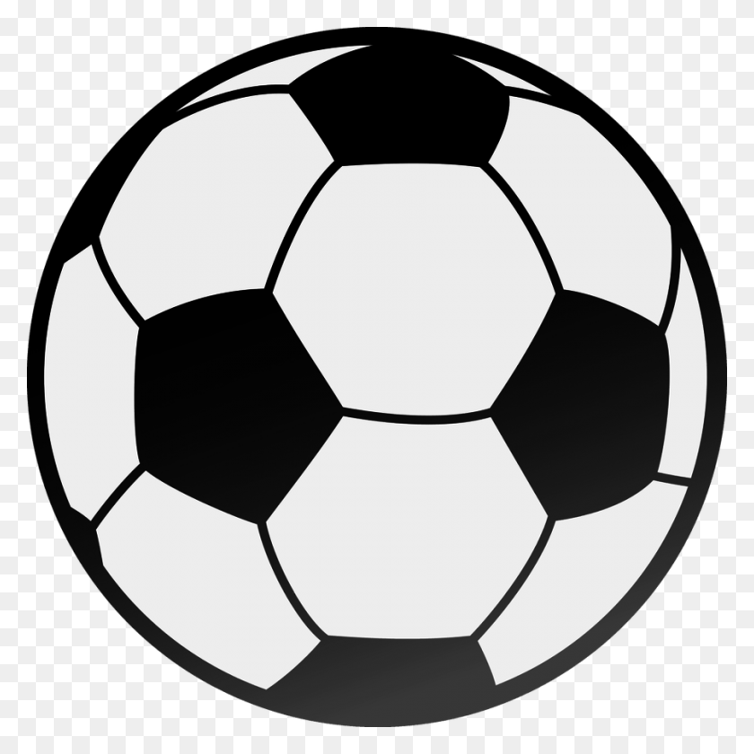Foot Ball Clip Art - Foot Clipart Black And White