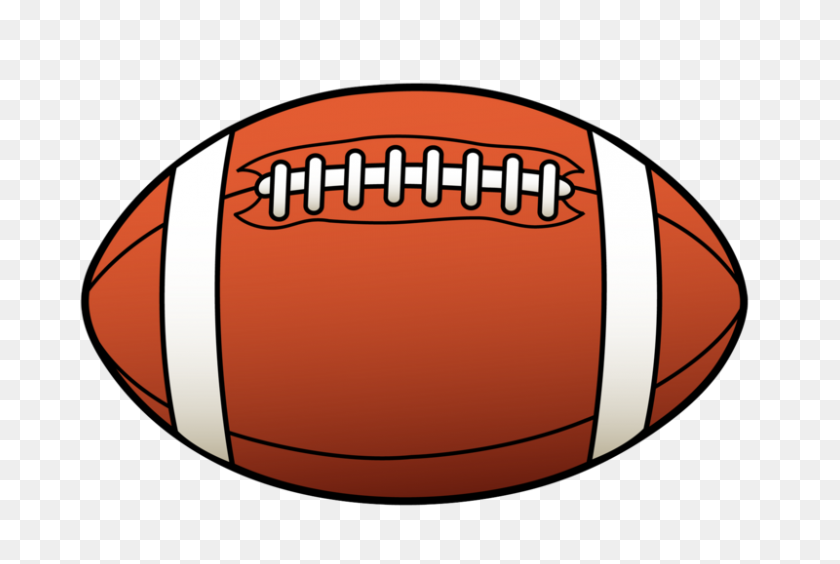 Football And Clipart - Football Goal Post Clipart