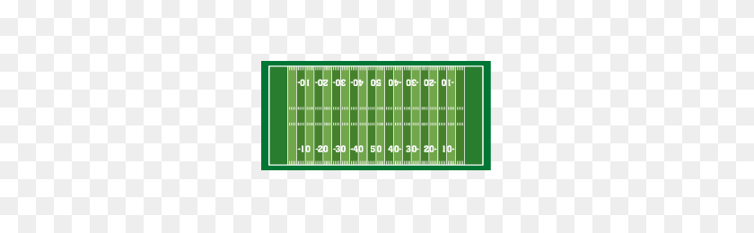 Football Field Dry Erase Wall Decal Dezign With A Z - Football Field PNG
