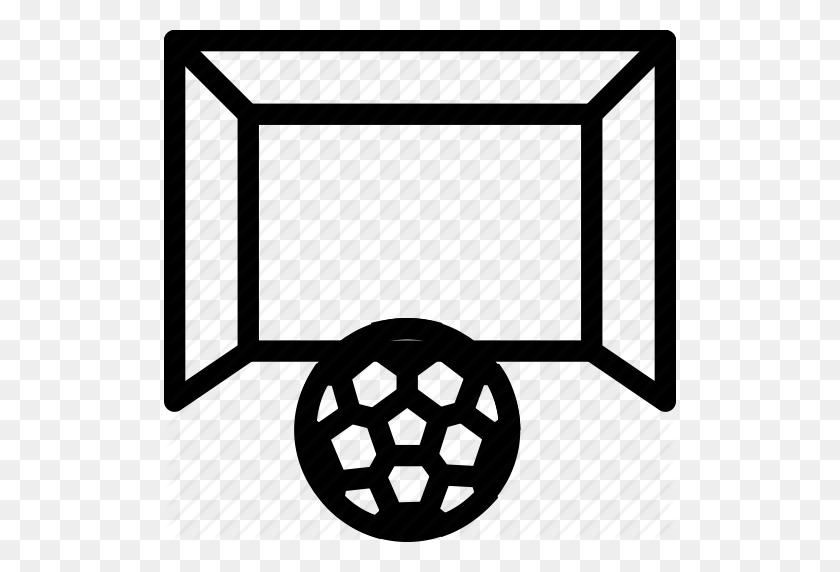 Football Goal Post, Football Net, Game, Goal, Handball, Soccer - Football Goal Post Clipart