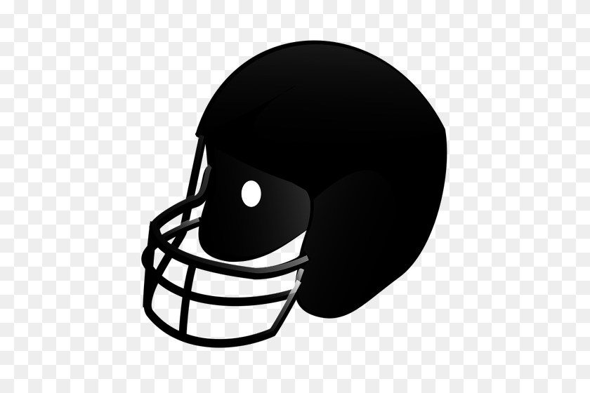 Football Helmet Clip Art - Football Helmet Clipart Black And White