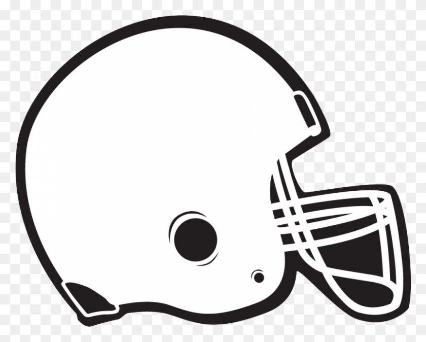 Football Helmet Clip Art Black And White Look At Football Helmet - Michigan Football Clipart