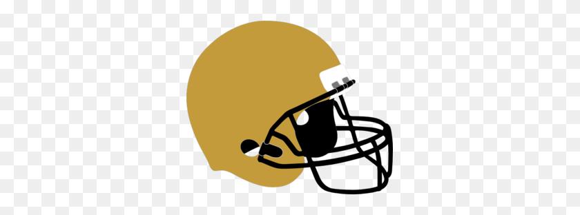Football Helmet Gold Black Clip Art - Football Helmet Clipart Black And White