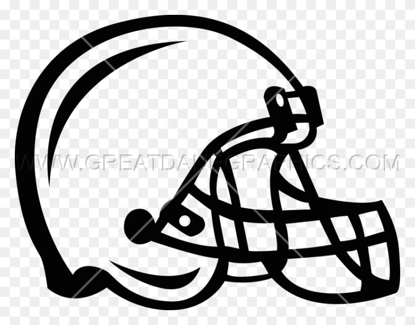 Football Helmet Production Ready Artwork For T Shirt Printing