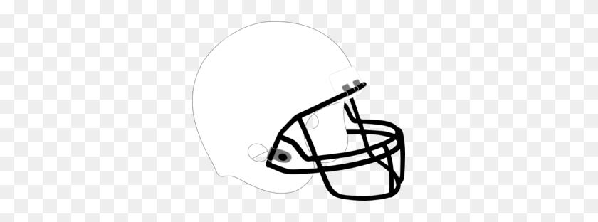 Football Helmet White Black Clip Art - Football Helmet Clipart Black And White