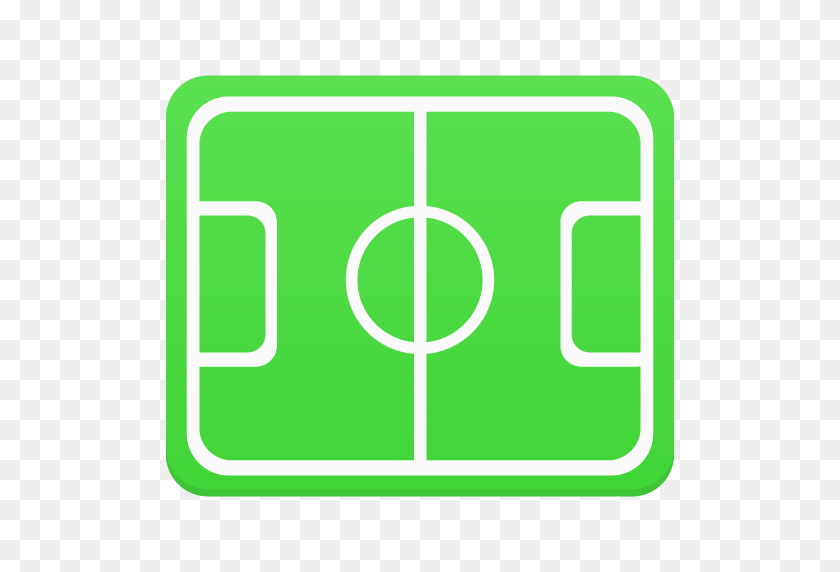 Football, Pitch Icon Free Of Flatastic Icons - Football Field PNG