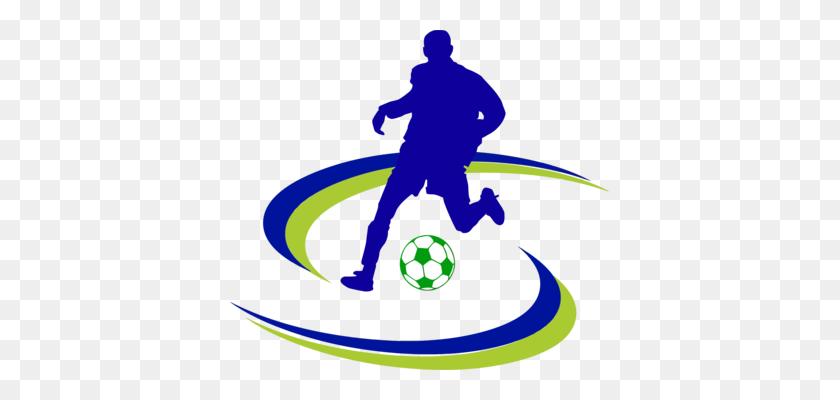 Football Player Shooting Clip Art Women Cartoon - Football Game Clipart