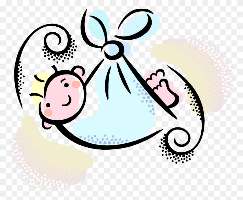 For Girls - Baby Shower Clip Art Girl