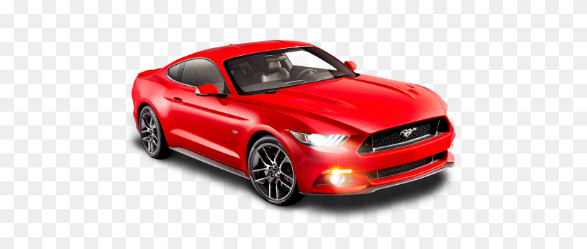 Ford Mustang Red Car Png Image - Red Car PNG