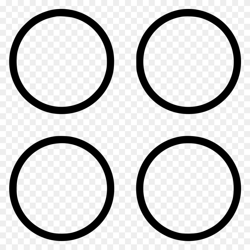 Four Spots Design Png Icon Free Download - Spots PNG
