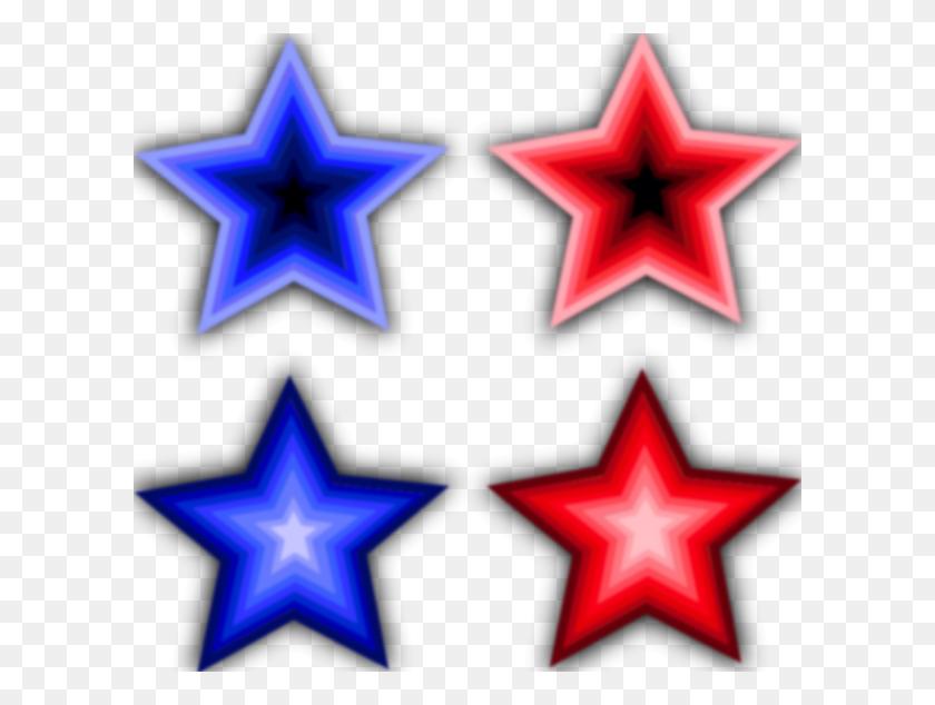 Four Stars Clip Art Free Vector - Moon Stars Clipart