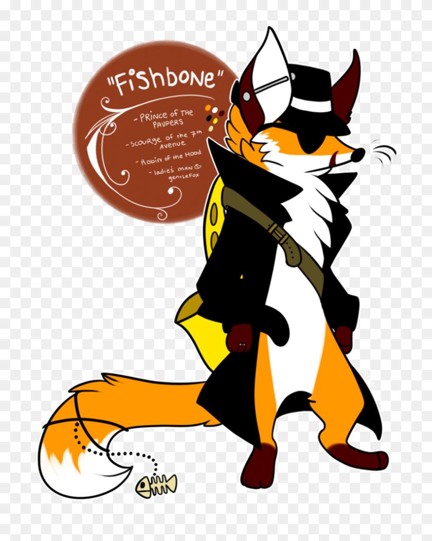 Fox Clipart Gentleman - Fox Clipart PNG