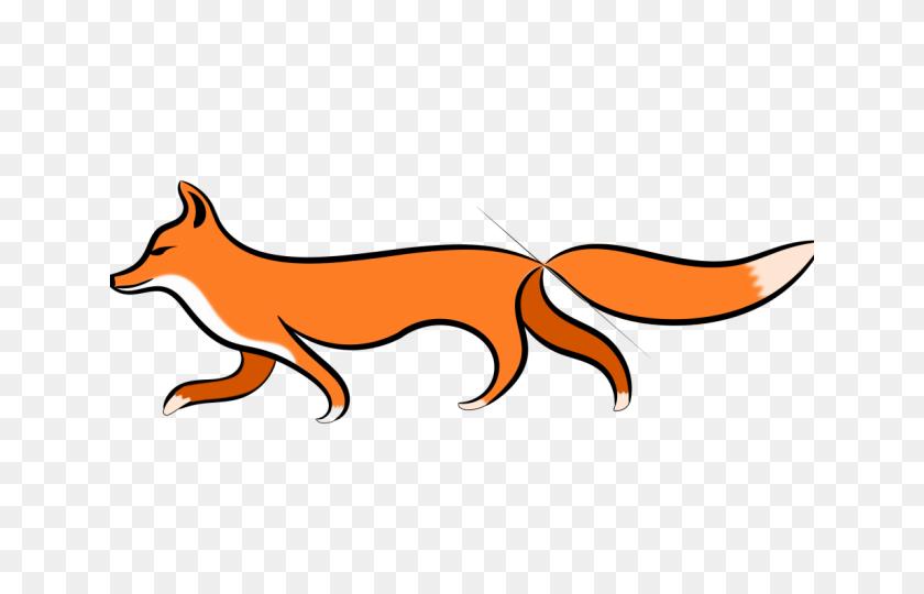 Fox Clipart Walking - Fox Clipart PNG