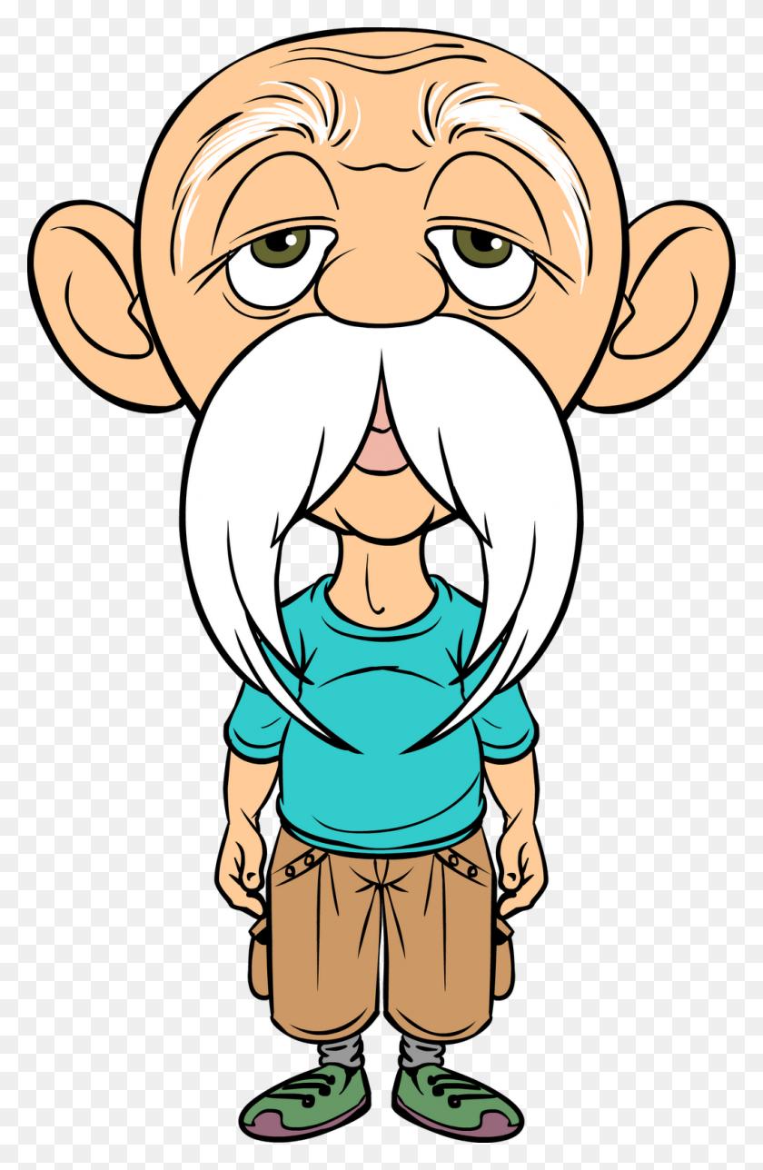 Frail Old Man With Walker Cartoon Clipart Clip Art - Homeless Person Clipart