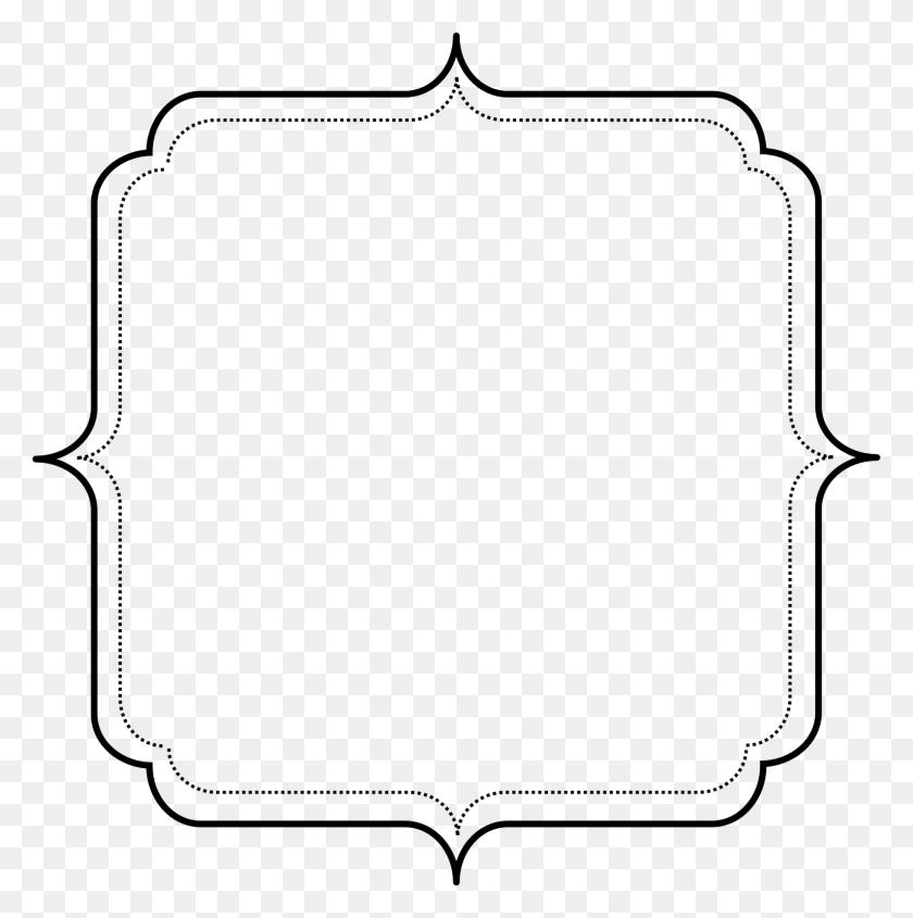 Frame Clipart Simple, Frame Simple Transparent Free For Download - Western Border Clip Art