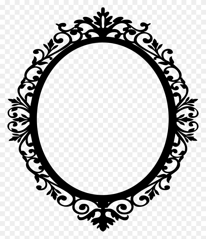 Frames Pattern, Pattern - Mirror Clipart