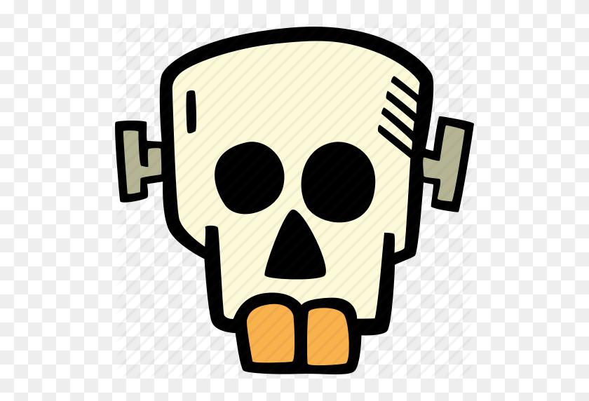 Frankenstein, Halloween, Holiday, Scary, Skull, Spooky Icon - Frankenstein PNG