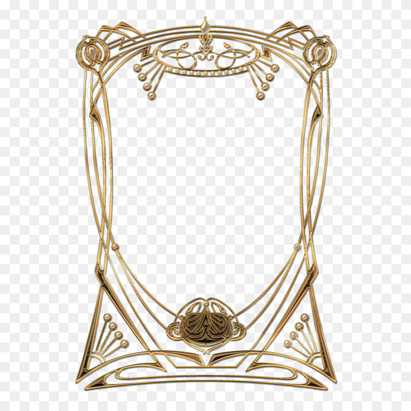 Frantic Art Deco Gen Frame Art Deco Gen Frame Transparent Png - Art Deco Frame PNG