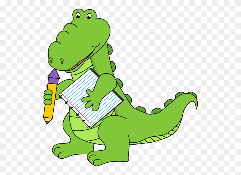 Free Alligator Clip Art School Alligator Clip Art Image - School Library Clipart