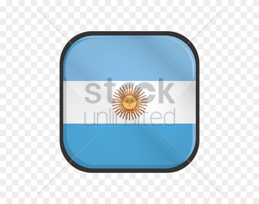 600x600 Free Argentina Flag Vector Image - Argentina Flag PNG