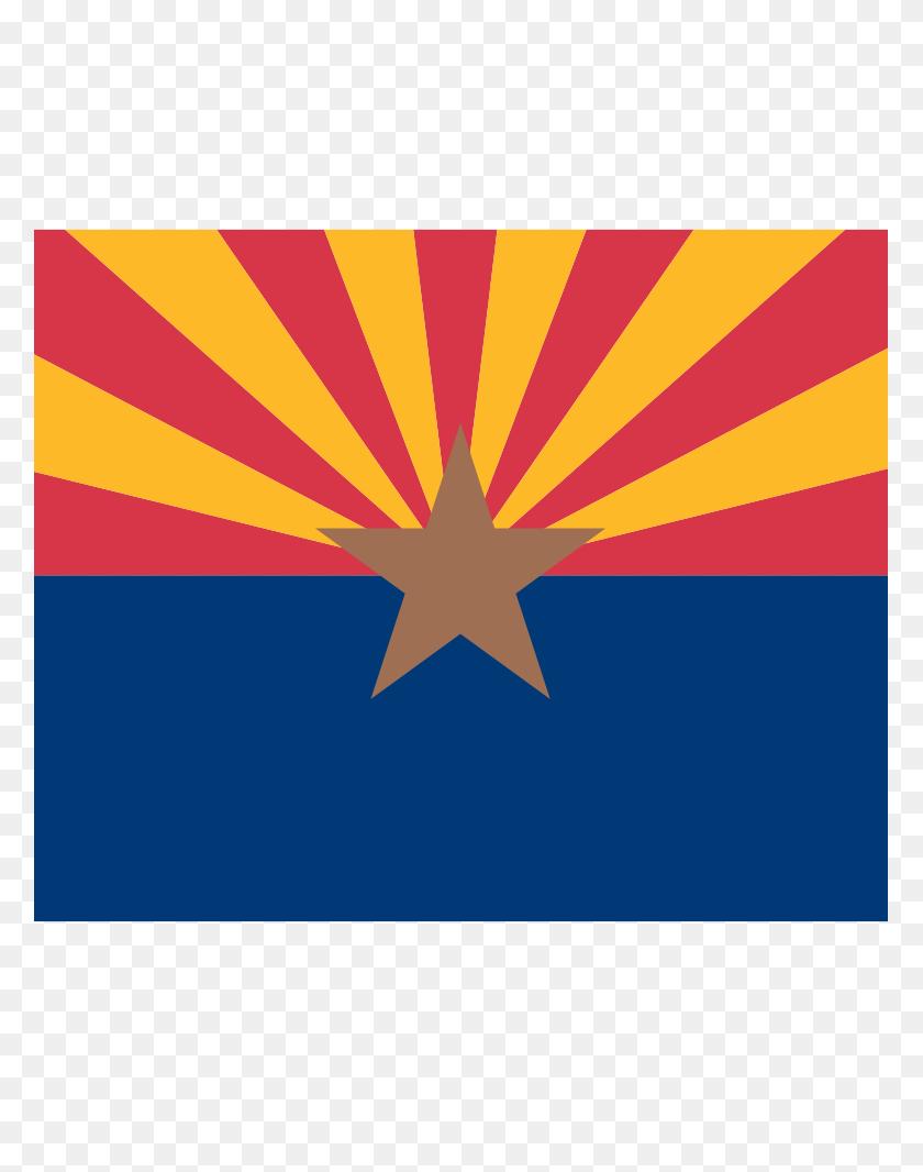 Free Arizona Flag Vector - World Flags Clipart