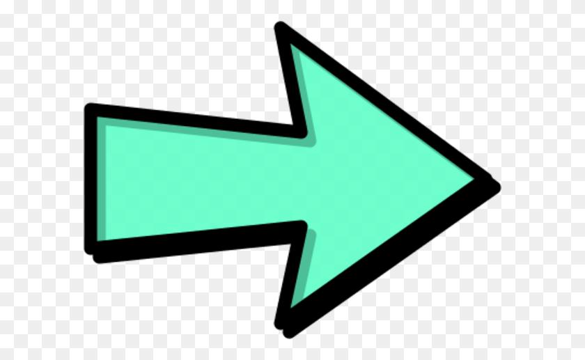 Free Arrow Blue Outline Right Clipart Graphics Clip Art Next - Next Clipart