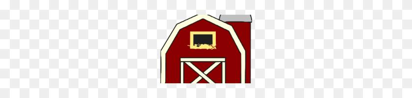 200x140 Free Barn Clipart Farmer Clip Art Free Barn Clip Art Image Red - Free Farmhouse Clipart