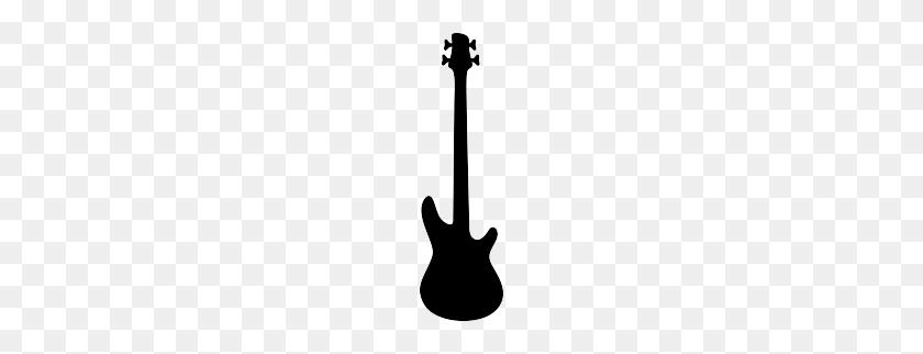 Free Bass Guitar Silhouette Cricut!!! Music - Playing Guitar Clipart