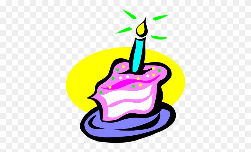 400x451 Free Birthday Cake Clipart