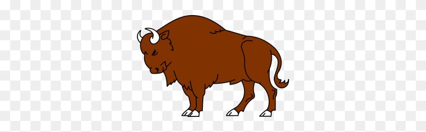 Free Bison Clip Art Bison - Bison Clipart