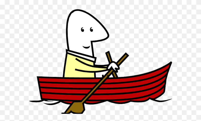 Free Boat Clipart - Man Fishing Clipart