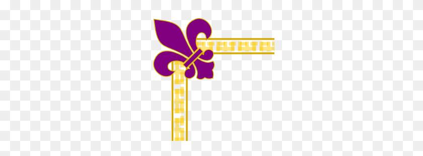 Free Borders And Clip Art Downloadable Free Fleur De Lis Borders - Purple Border Clipart