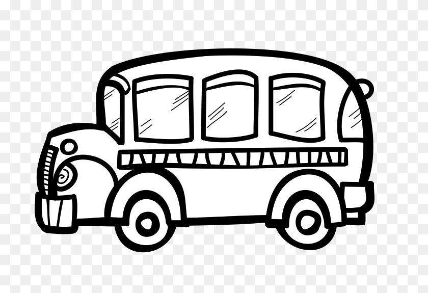 767x515 Free Bus Clip Art - Monster Truck Clipart Black And White