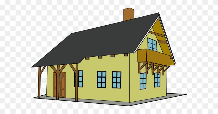 Free Cartoon House Pictures House Clip Art Cartoon Houses - Balcony Clipart