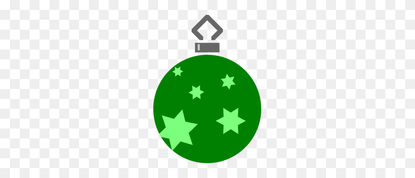 Free Christmas Ball Ornament Clipart - Simple Christmas Clipart