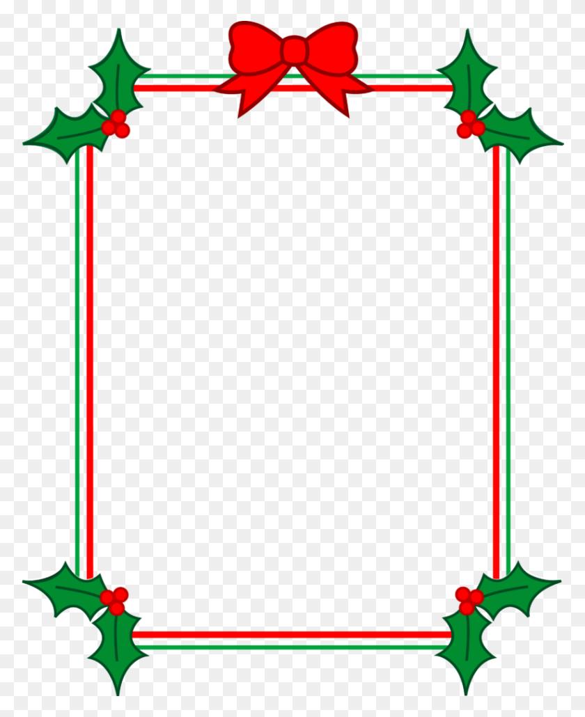 Christmas Borders Thank You Clipart