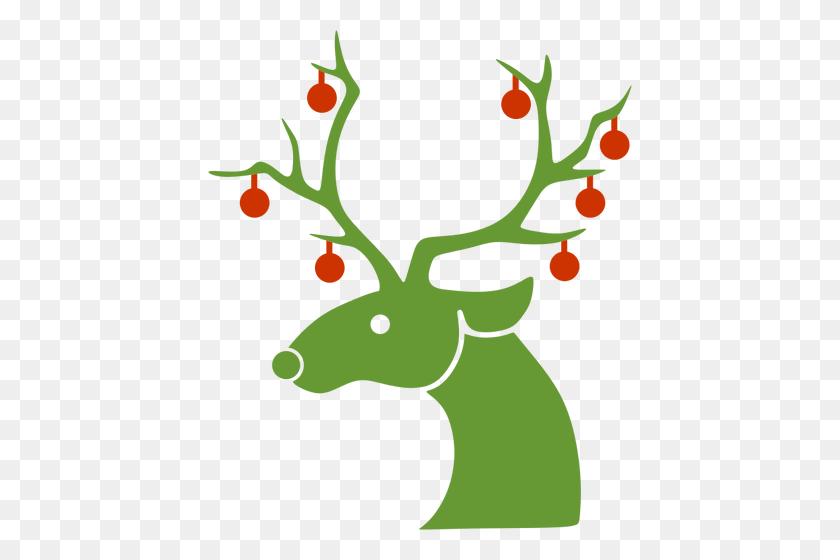 Santa And Reindeer Clipart (#3095860) - PinClipart