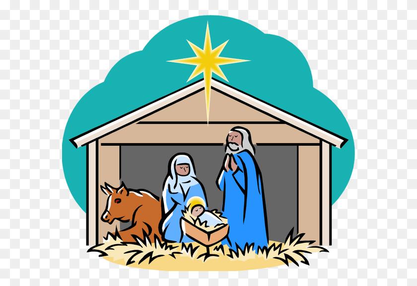 Free Christmas Clipart Nativity Scene