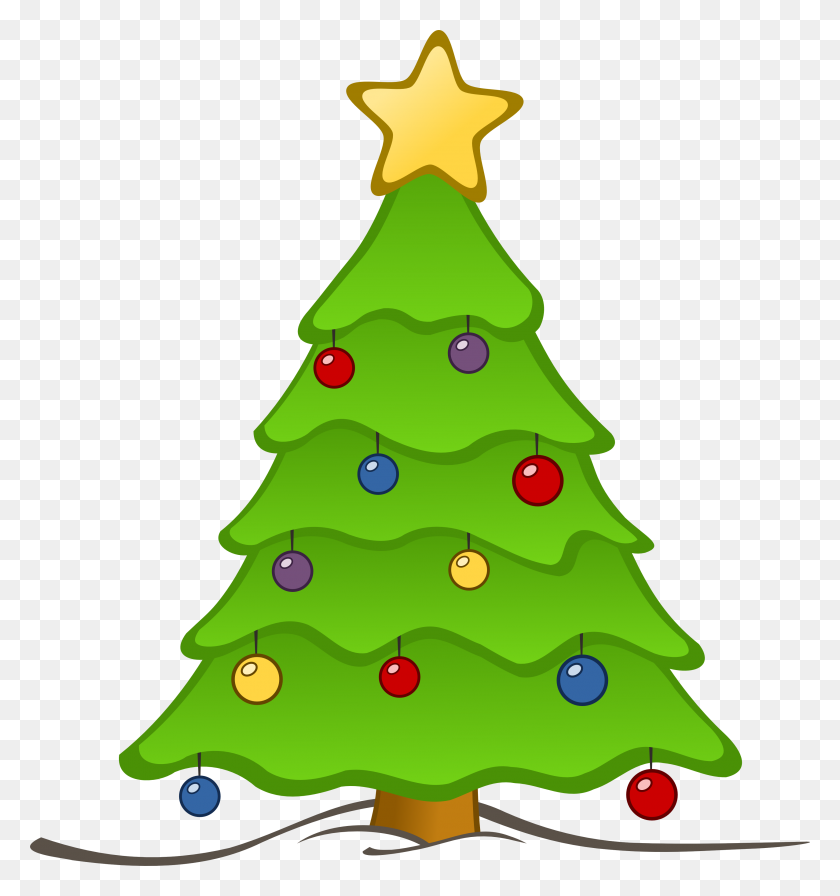 Free Christmas Tree Clip Art - Luau Images Clipart