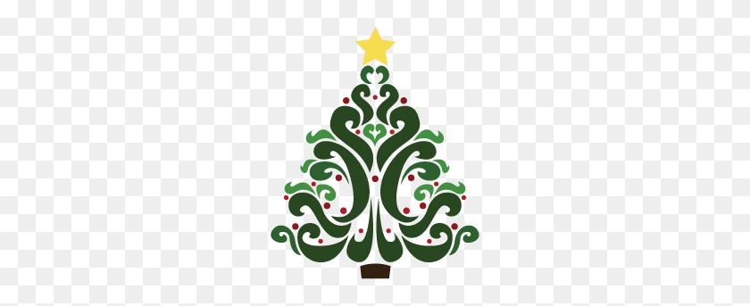 Free Christmas Tree Clipart Christmas Christmas - Vintage Christmas Tree Clipart