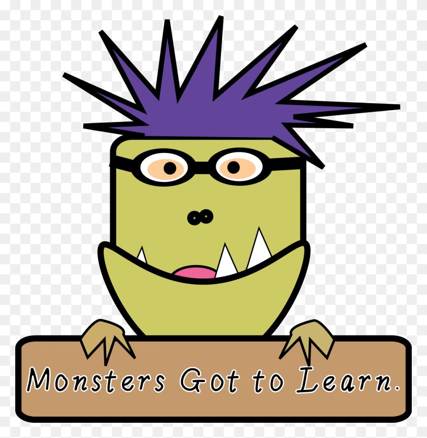 1326x1364 Free Clip Art - Monster Face Clipart