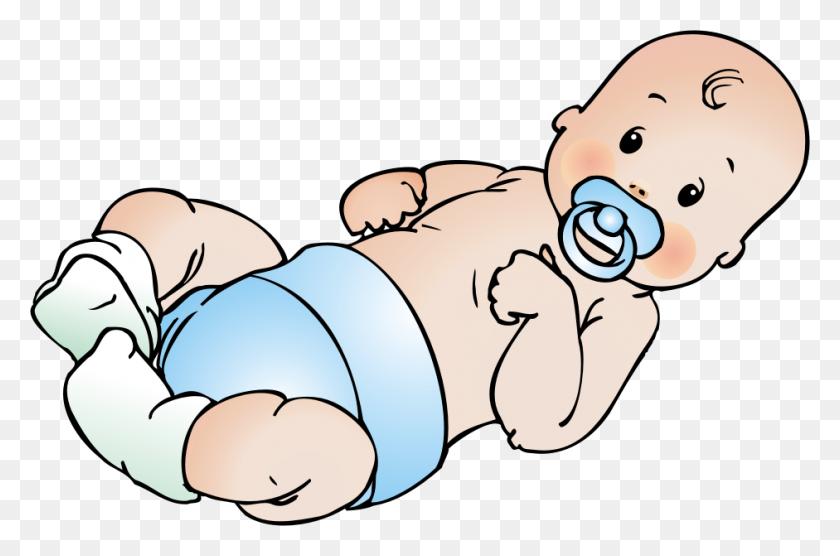 Free Clip Art Baby - Diaper Clipart