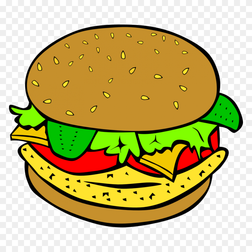 800x800 Free Clip Art Dinner - Lunch Table Clipart